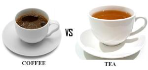 Coffee vs Tea. The eternal battle of morning beverages.